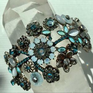 Sorrelli show stopping Swarovski crystals Cuff